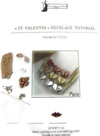 Zelfmaak pakketje St.Valentin Necklace ROSE GOUD