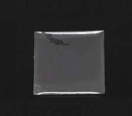 Epoxy resin drop sticker 25mm vierkant