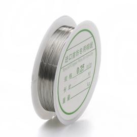 Binddraad 0,25mm Zilver