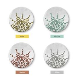 Stamp Enamel Paint Markers set 4 stuks ImpressArt