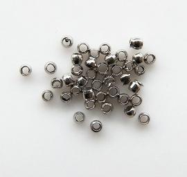 Knijpkraal  Silver tone 1,5mm