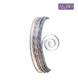 AluDeco Wire 2mm Rose Diamond Cut (5m)