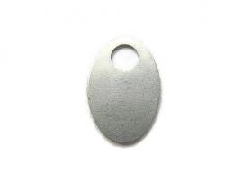Tag Ovaal Washer aluminium 20x30mm