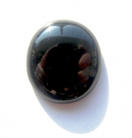 Synthetische Onyx Cabochon 25x28mm