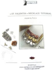 Zelfmaak pakketje St.Valentin Necklace ZILVER