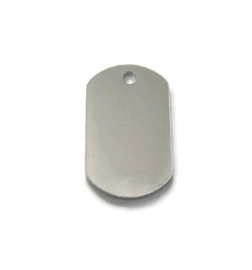 ImpressArt Dogtag Aluminium 32x19mm  Premium