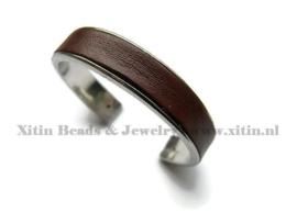 Metalen Open Cuff  Armband Channel smal