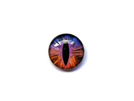 Dragon Eye 012, 25mm Glas Cabochon Rond