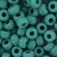 06-412 Miyuki Opaque Turquoise Green 6/0