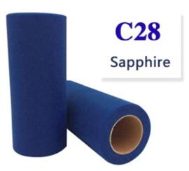 Tule Sapphire 15cm breed  rol 22 meter C28