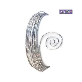 AluDeco Wire 2mm Misty Pink Diamond Cut (5m)
