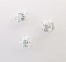 Kraal metaal Filigree 4mm (10st.)