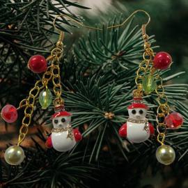 Dag 4 Materialenpakketje Kerst Oorbellen 12 days of Christmas