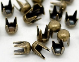 Studs Rond Brons 3mm (10st.)