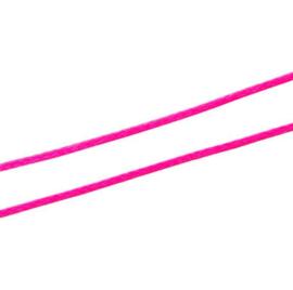 Koreaans Polyester Waxkoord Hot Pink 0,5mm
