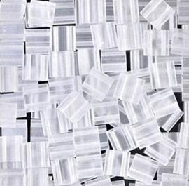 TL-131F Miyuki TILA Matte Transparant Crystal 5x5mm