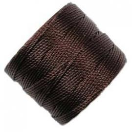S-LON BEAD CORD (CHOCOLAT) WINETTE
