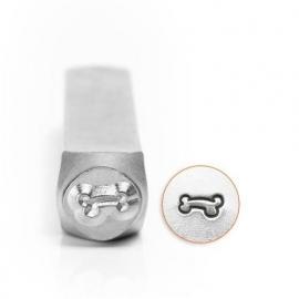 Design stempel Dog Bone 6mm ImpressArt