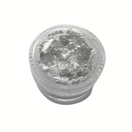 Potje Zilver Folie Flakes