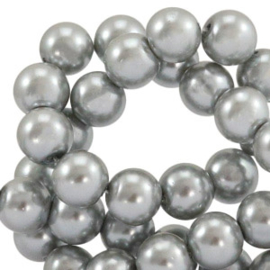 Glasparel  Silver Grey 6mm (Per streng)