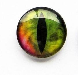 Dragon Eye 004, 25mm Glas Cabochon Rond
