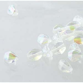 Pinch Bead Crystal AB per streng