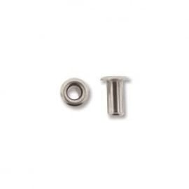 Silver Plate Hollow eyelet