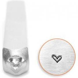 Design stempel Whimsy Heart 3mm ImpressArt