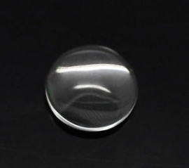 Glas cabochon Rond 15 mm