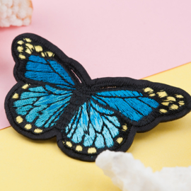 Applicatie Vlinder Blauw MET SPELD