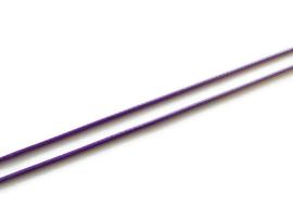 Koreaans Polyester Waxkoord Paars 0,5mm