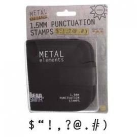 Punctuation stempel set 1.5mm