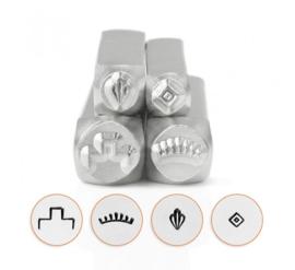 Design stempel South Western Mandala Pack (4st) ImpressArt