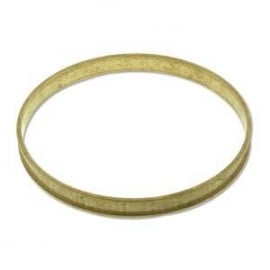 Beadsmith smalle Messing Bangle 6,5mm channel