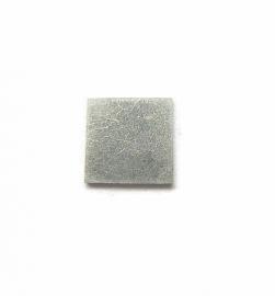 Tag Vierkant aluminium 12.7mm
