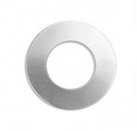Tag Donut aluminium 25mm Premium