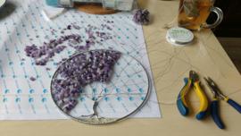 Workshop levensboom raamhanger Maken