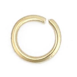 304 RVS Jump Ringen Goldplated 3mm