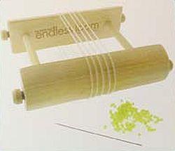 Elastische bandjes voor Endless Loom 17,8cm Transparant/Wit (10st.)
