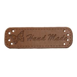 VOORDEELVERPAKKING 20 stuks Labels Hand Made & Vlinder