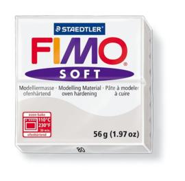 Fimo Klei Soft Dolfijn Grijs No.80