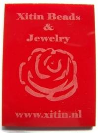 Plexiglas Opaal Rood 200x150mm