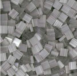 TL-2598 Miyuki TILA Silk Pale Gray 5x5mm