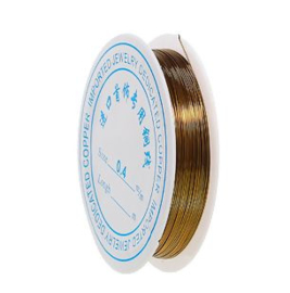 Binddraad 0,4mm Brons/Goud