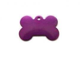 Dog Bone Purple aluminium