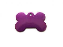 Dog Bone Purple aluminium