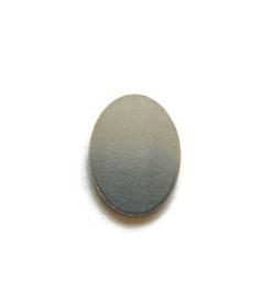 Tag Ovaal 13x18mm aluminium