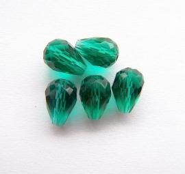 Druppel Emerald 12x8mm