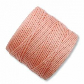 S-LON BEAD CORD (PINK LEMON) CORAL PINK