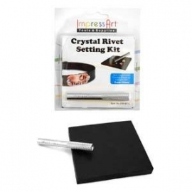 Crystal Rivet Setting Kit ImpressArt